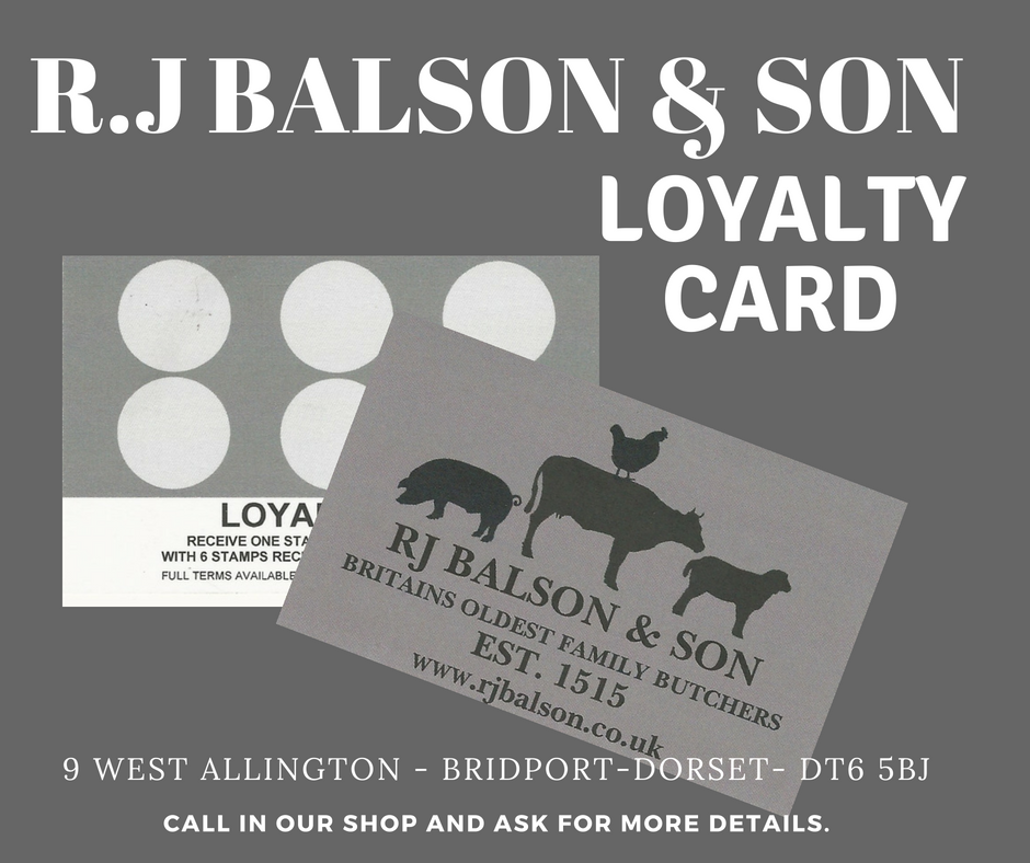 rj balson loyalty card